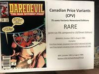 Daredevil (1984) # 219 (F/VF) Canadian Price Variant (CPV)  !Frank Miller Copy !