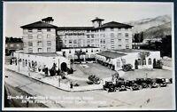 Lewiston Idaho  Lewis-Clark Hotel - antique ca 1920s Burns Photo Co. RPPC