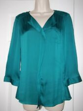 EUC Emerald Green THE LIMITED 3/4 Sleeve Pullover Blouse (Medium)