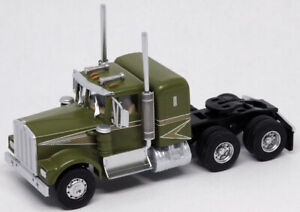 Athearn HO KW Kenworth Owner-Operator Truck Tractor Green-Gold ATH41046 CUSTOM