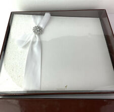 Papyrus Large White Wedding Album New In Box