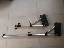 2 x Unbranded Wall Mounted Boom Arm