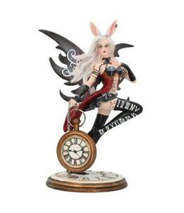 Nemesis Now - ALICE IN WONDERLAND GOTHIC FAIRY FIGURINE - Rabbit