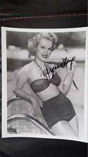 "Virginia Mayo ""The Best Years Of Our Lives"" Actress Signed Photo Autograph"