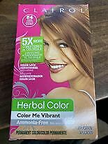 Clairol 54 Amber Shimmer Color Me Vibrant Herbal Color Ammonia-Free Hair Dye