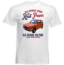AUTO D'EPOCA GIAPPONESE HONDA Z600-Nuovo T-shirt di cotone