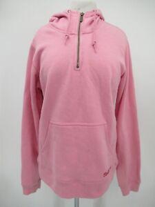 M9781 VTG Women's Carhartt Lakeshore 1/4-Zip Pullover Sweatshirt Size L (12/14)