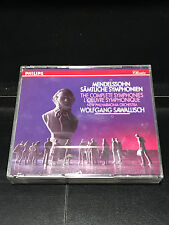 Mendelssohn: Complete Symphonies; 3 CD Set-VG Condition-Philips Records-1991