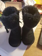 Toddler 5 Boots Faux Fur Exc!