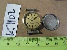 - Vintage LONGINES Swiss Quartz LADY Good dial Parts Watch AsIs