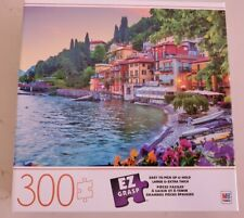 "Milton Bradley Holidays in Italy EZ Grasp 300 Large Piece 24""x18"" Jigsaw Puzzle"