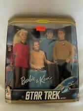 Barbie  - Star Trek - Barbie &Ken - Gift Set Dolls - 1996