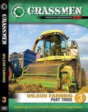 GRASSMEN WILSON FARMING PART 3 Claas 980 & 870, Krone Harvesters, Pottinger NEW