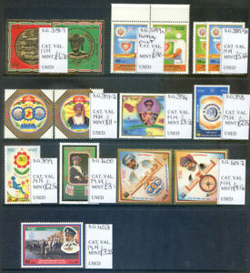 Oman 1990-93 unmounted mint run of sets and miniature sheets (2020/09/13#02)