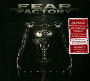 Fear Factory - Genexus (2015)  CD  Limited Edition  NEW/SEALED  SPEEDYPOST