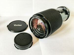 Vivitar Series 1 for Canon FD 70-210mm f/3.5 Macro MF Zoom Lens C/FD Mount