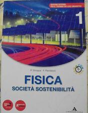 FISICA SOCIETA' SOSTENIBILITA' VOL.1 con DVD- P.STROPPA F.RANDAZZO - A.MONDADORI