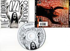 "OZZY OSBOURNE ""Live At Budokan"" (CD) 2002"