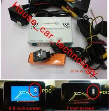 Mercedes PAS with rear view camera for A/B/C/CLA/GLA/GLK/ML/G/E/SLK/CLS NTG4.5