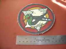 WWII USAAF 333 RD FIGHTER SQDN CORAL COBRA'S  FLIGHT JACKET PATCH