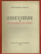 #116894 Leonardo Da Vinci 50x40cm La Dame À L/'Hermine Poster Affiche D`Art