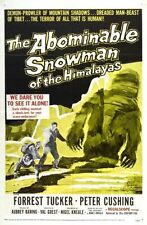 Abominable Snowman The Movie poster 24inx36in Poster 24x36
