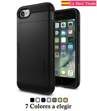 Funda iPhone 7 - Slim Armor Cs - Tpu bumper con tarjetero Gel Silicona Carcasa