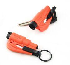 2 Pack New Resqme Escape Tools seatbelt cutter glass breaker Orange