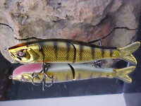 """River2Sea 6 3/4"""" 1 5/8oz S-WAVER SW168S/12 Swimbait Lure for BassN. Pike/Muskie"""