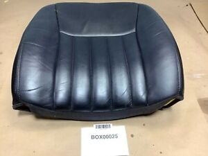 2004 LINCOLN TOWN CAR FRONT PASSENGER SEAT UPPER CUSHION LEATHER BLACK OEM+