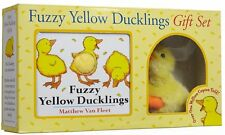 Fuzzy Yellow Duckling Gift Set book & plush by Matthew Van Fleet