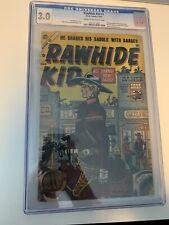 Rawhide Kid #1 Atlas 1955 CGC 3.0 Unrestored Label 1st Appearance & 1st Apache