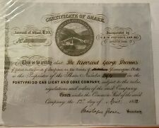 More details for pontypridd gas light and coke company, £10 share, 1850
