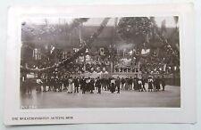 WOLVERHAMPTON SKATING RINK VINTAGE ANTIQUE REAL PHOTO POSTCARD SOUTH STAFFS 1910