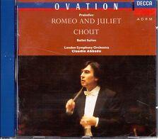 Prokofiev: Romeo Giulietta (estratti), Chout Suite / Claudio Abbado, London - CD