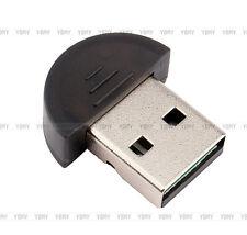 Fit - PC Fax teléfono Mini Bluetooth dongle USB 2.0 adaptador inalambrico negro