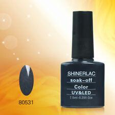 80531 Shinerlac UV/LED Nail GEL Polish powered by Bluesky 10ml Free P&P