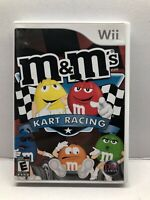M&M's Kart Racing (Nintendo Wii, 2007) Clean & Tested Working - Free Shipping