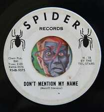 HEAR Johnnie Stevens 45 Don't Mention My Name/Love Me SPIDER rockabilly rocker
