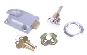 Deadbolt Diecast Case Lock Overhead Garage Door #3250 Keyed A Like Cylinder