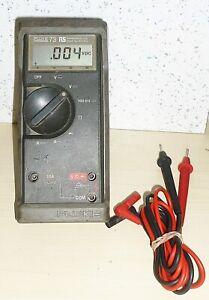 Fluke 73 RS MultiMate Multimeter With Leads
