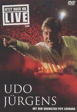 """UDO JÜRGENS """"JETZT ODER NIE - LIVE 2006"""" DVD NEU"""