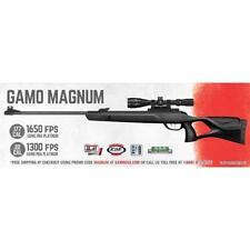 Gamo Magnum Air Rifle.22 Caliber 1300Fps W/Pba Platinum 3-9X40Scope 61100615554