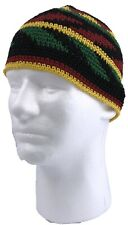 Lightweight Crocheted Cotton Rasta Beanie Cap Design Varies Reggae Hat Kufi