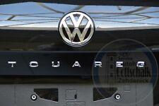 Orig VW TOUAREG CR7 Schriftzug Heck Emblem chrom Logo Heckklappe 760853687A 2ZZ