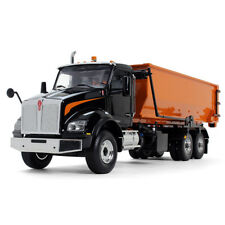 NEW STYLE 2018 KENWORTH ROLL OFF GARBAGE TRUCK W/ DUMPSTER TUB  by first gear