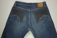 EUC - RRP $389- Mens Rare Vintage G-Star Raw 'S.C. LOW CROTCM MIX' Jeans Size 34