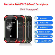 """Blackview BV6000 4.7"""" IP68 4G Smartphone 3+32G Android OctaCore NFC Mobile Phone"""