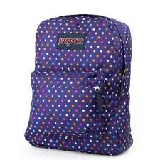 JANSPORT Superbreak Backpack - Purple Spot O Rama School bag JS00T50134A