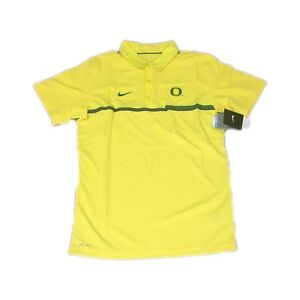 NWT NEW Oregon Ducks Nike Men's Elite Coaches Dri-FIT Polo Shirt Size XXL 2XL